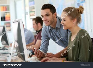 stock-photo-student-girl-with-trainer-working-on-computer-and-tablet-259919555